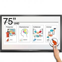 Ecran interactif tactile Android + Windows SpeechiTouch Pro UHD