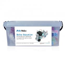 Pack robotique de 9 boites éducation nationale + 1 boite OFFERTE + 1 seau de pièces GRATUIT