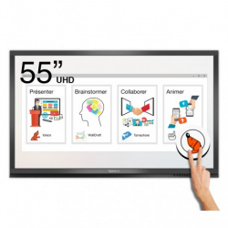Ecran interactif tactile Android + Windows SpeechiTouch Pro UHD - 55""