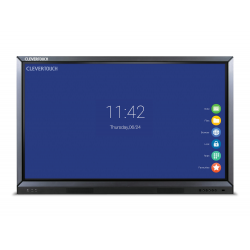 "Ecran interactif tactile Android CleverTouch Plus Lux 4K - 86"" OTA Double-slot"