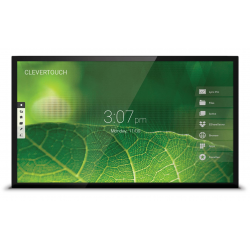 "Ecran interactif capacitif Android-Windows CleverTouch Pro 4K - 65"" OTA Double Slot"