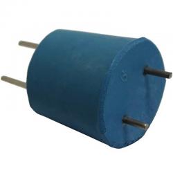 Bouchon avec 2 électrodes Nickel
