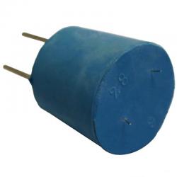 Bouchon avec 2 électrodes Platine