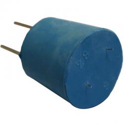Bouchon avec 2 électrodes Cuivre