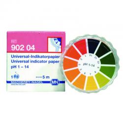 Papier indicateur universel pH 1 - 14