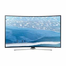 "Téléviseur SAMSUNG LED 55"" UHD 4K Curved Smart TV KU7350"
