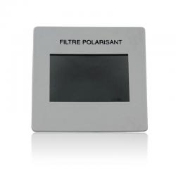 Diapositive filtre polarisant