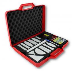 Kit optique géométrique avec laser multifaisceaux rouge