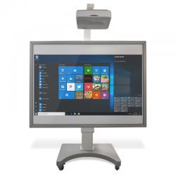 Tableau blanc interactif fixe tactile 83'' avec vidéoprojecteur ultra courte-focale