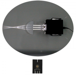 Source à miroirs à LED