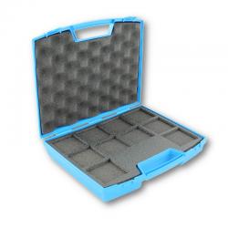 Valisette bleue pour 10 diapos